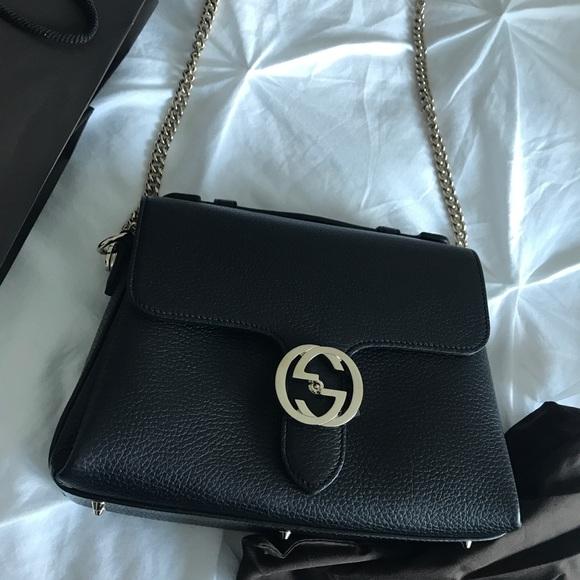 21d108a0095e Gucci Bags | Interlocking G Top Handle Shoulder Bag | Poshmark